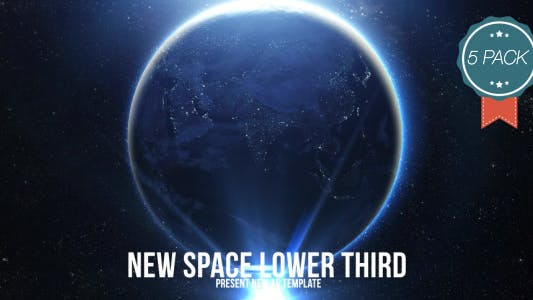 Thumbnail for Space Light Lower Third V3 (5 Pack)