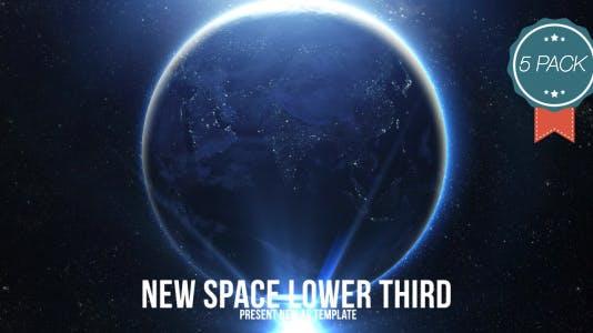 Space Light Lower Third V3 (5 Pack)