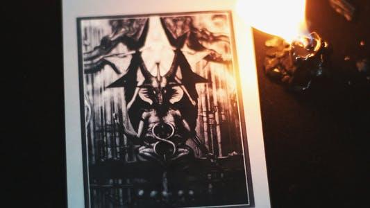 Thumbnail for Tarot Card Devil