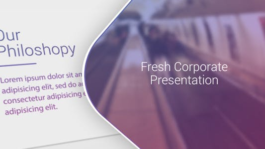 Thumbnail for Fresh Corporate Presentation