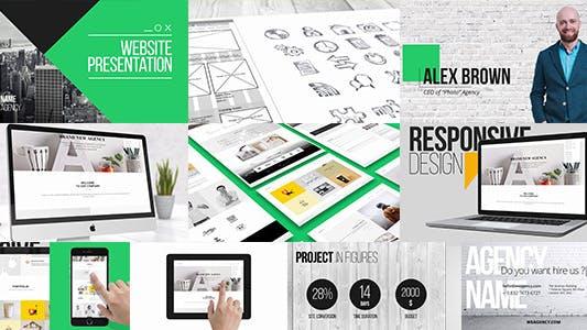 Thumbnail for WEBA - Многоцелевая презентация сайта