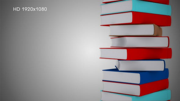 Thumbnail for A Stack of Books - Background 2