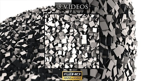 Thumbnail for White Cubes Are Rotating 2 - 3 Pack