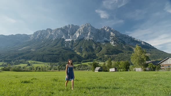Walk in the Picturesque Alpine Valley