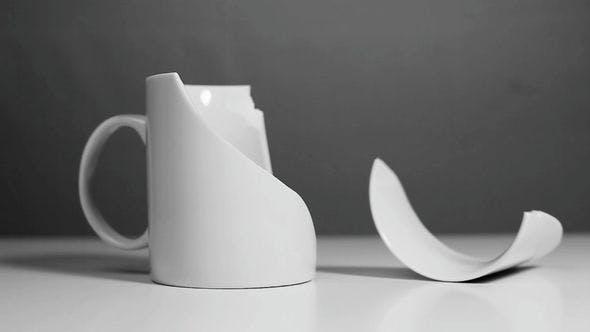 White Mug Breaks