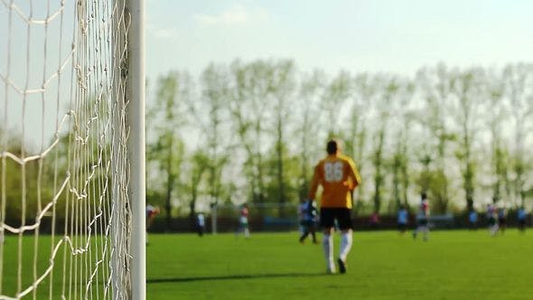 Thumbnail for Goalkeeper And Players Is On A Football Field