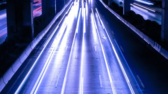 Fast Driving Traffic