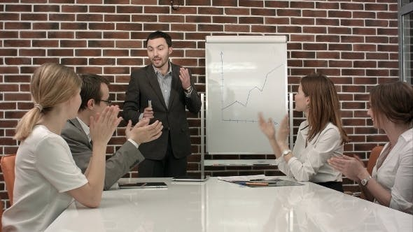 Thumbnail for Business People Giving Applause