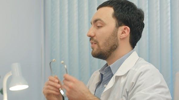 Thumbnail for Hospital: Doctor Checks Heartbeat
