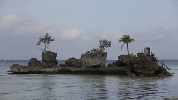 Thumbnail for Willy's Rock On Beach At Boracay