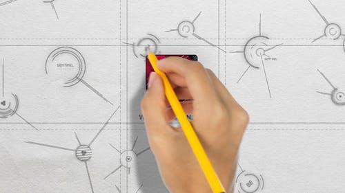 Hi-Tech Hand Writing Logo