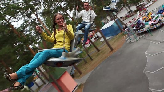 Thumbnail for Two Teenagers In Park