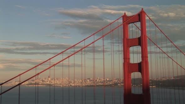 Thumbnail for Golden Gate Bridge, View Of San Francisco