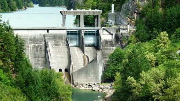 Cover Image for Diablo Dam In North Cascades National Park