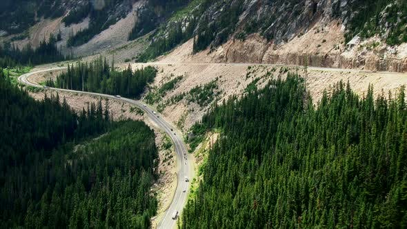Thumbnail for Switchback Road Through The North Cascades National Park