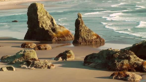 Thumbnail for Sea Stacks On Bandon Beach