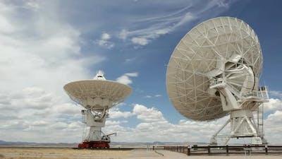 Moving Radio Antenna