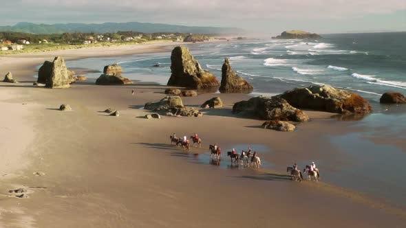 Thumbnail for Horseback Riding On Bandon Beach