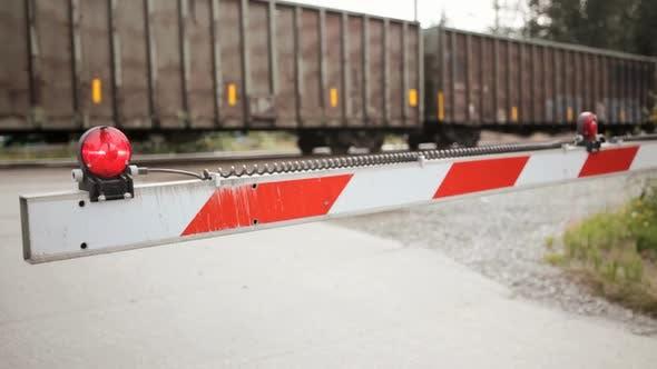 Bahnübergangssperre
