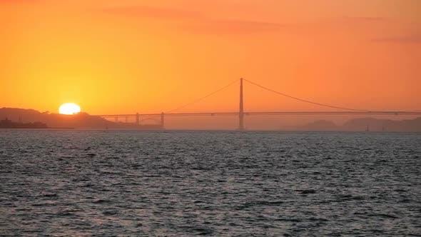 Thumbnail for Sunset Golden Gate Bridge