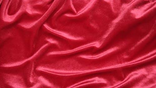 Red Velvet Background, Stop Motion Animation