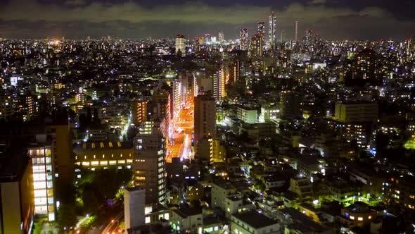 Thumbnail for Downtown Tokyo At Night