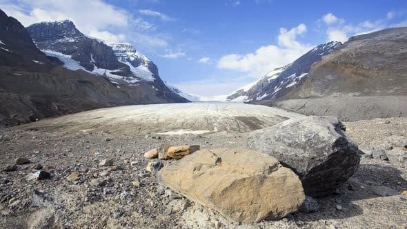 Thumbnail for Athabasca Glacier, Time Lapse