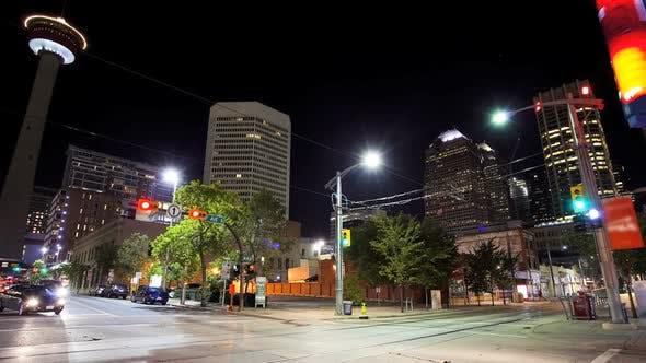 Thumbnail for Downtown Calgary, Time Lapse