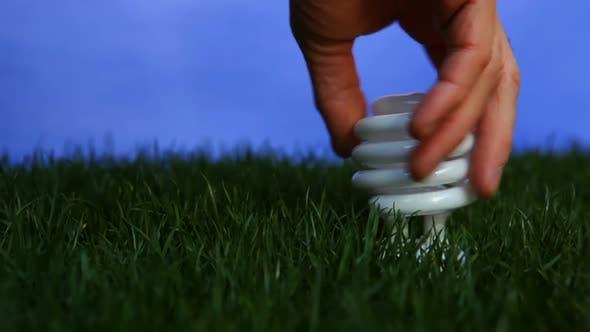 Thumbnail for Energy Saving Light Bulb 4