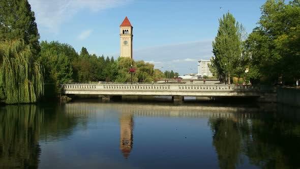 Thumbnail for Spokane River In Riverfront Park