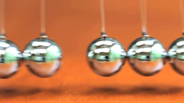 Thumbnail for Close Up Of Newton's Cradle 1