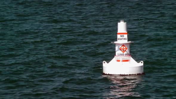 Cover Image for No Boating Buoy