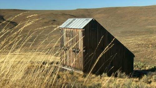 Weathered Barn In Eastern Oregon