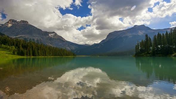 Thumbnail for Emerald Lake, Time Lapse 2