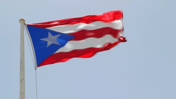 Thumbnail for Puerto Rican Flag 2