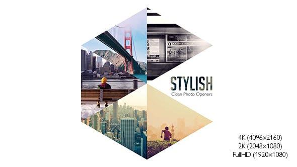 Thumbnail for Stylish Photo Openers - Logo Reveal
