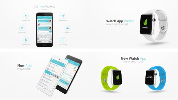 Thumbnail for Iphone 6 and Apple Watch Presentation Kit
