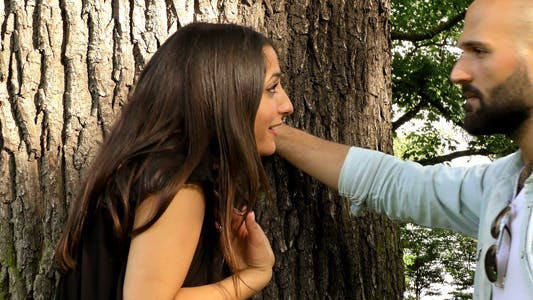 Thumbnail for Couple Had an Argument near the Tree