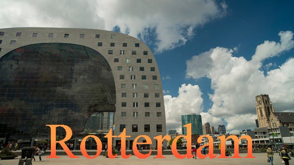 Thumbnail for Square in Rotterdam