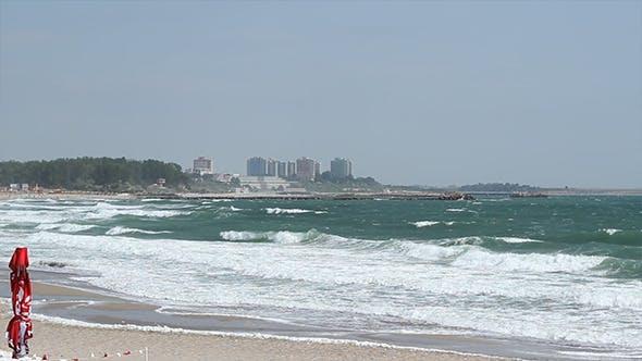 Rough Sea View