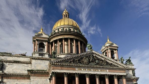 Thumbnail for St. Isaac's Cathedral, St Petersburg (time-lapse)