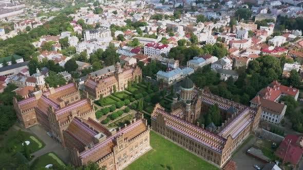 Thumbnail for The Residency of the Chernivtsi National University