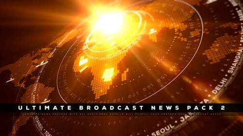 Ultimate Broadcast News Pack 2