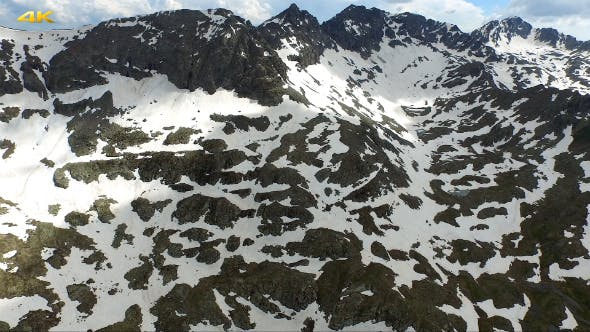Mountain Lake and Summit
