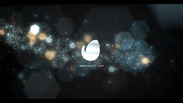 Elegant Bokeh Particle Logo