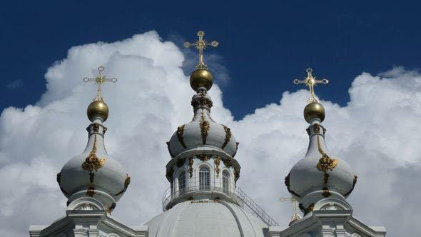 Thumbnail for Smolny Cathedral Domes, St Petersburg