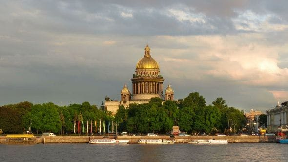 Thumbnail for St. Isaac's Cathedral And Neva, St Petersburg