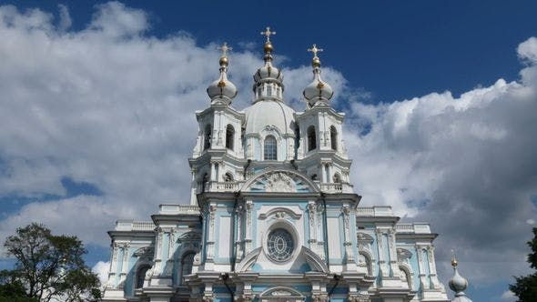 Thumbnail for Smolny Cathedral, St Petersburg (time-lapse)