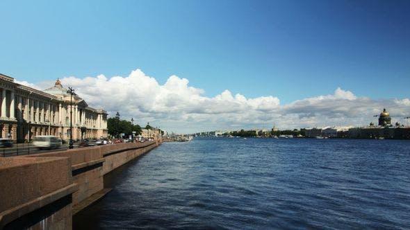 Thumbnail for Neva River In Summer, St Petersburg