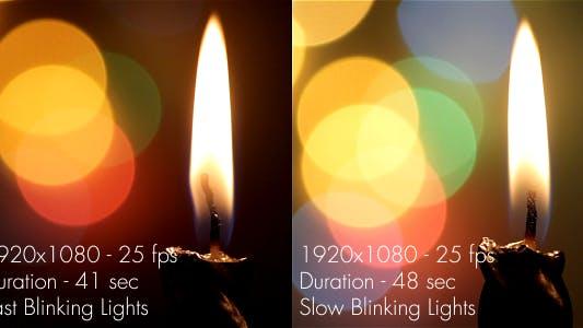 Thumbnail for Christmas Lights & Candle